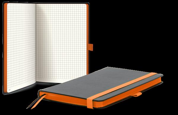 Notizbuch KOM A5c orange