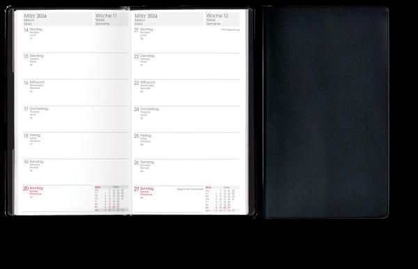 Taschenkalender TP2B1-Kunststoff