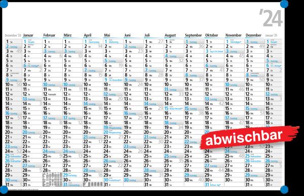 Plakatkalender FRK 14B abwischbar